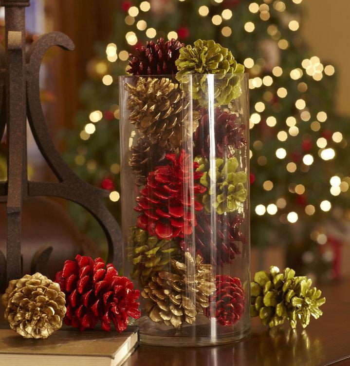 Светильник из новогодней гирлянды своими руками