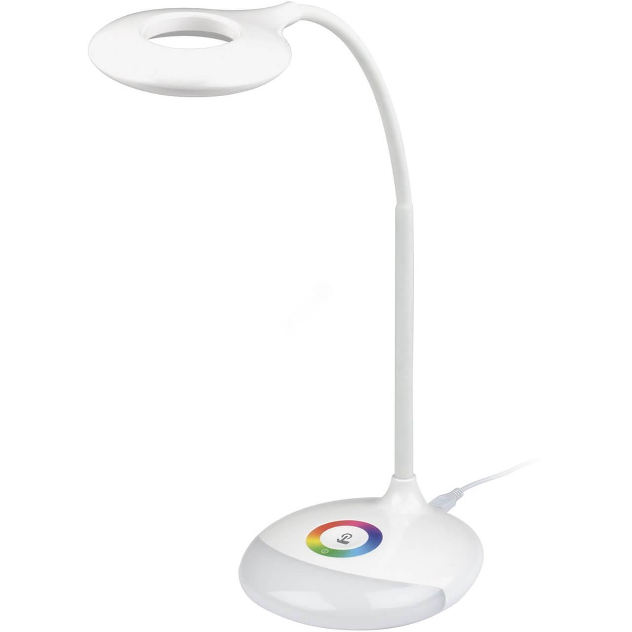 Настольная лампа (UL-00001496) Uniel TLD-535 White/LED/250Lm/5500K/Dimmer