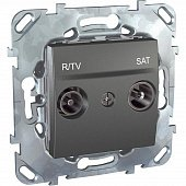 Розетка R-TV/SAT оконечная Schneider Electric Unica MGU5.455.12ZD